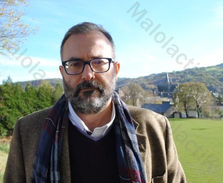 Xoan Lois Elorduy Vidal de l'Institut Catalan du Vin et de la Vigne (Johan Gesrel).