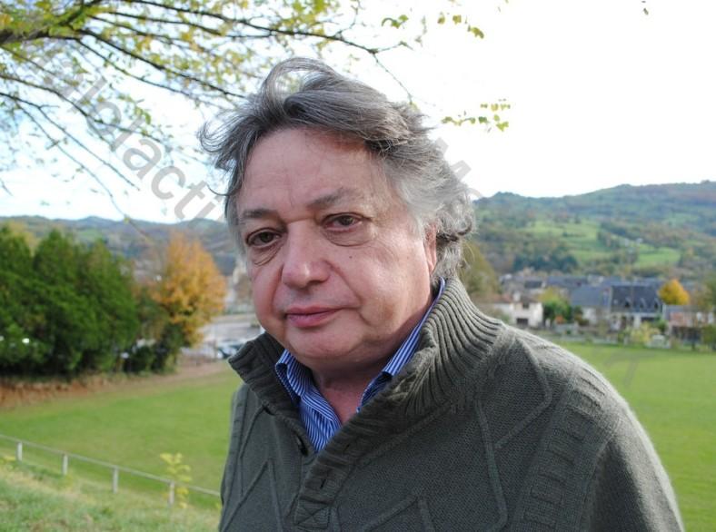 """Jacques Dupont, journaliste spécialiste du vin au magazine """"Le Point"""" (Johan Gesrel)."""